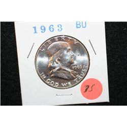 1963 Ben Franklin Half Dollar, BU
