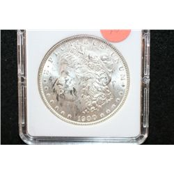 1900 Silver Morgan $1, MCPCG Graded MS61