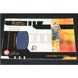 James Tinsley-Indiana Pacers-Sweat Swatch; 2002 NBA All-Star Weekend in Philadelphia Game-Worn Short