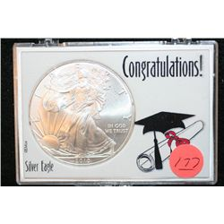 "2010 Silver Eagle $1, ""Congratulations"""