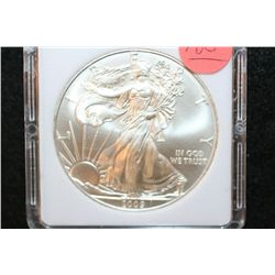 2009 Silver Eagle $1, MCPCG Graded MS70