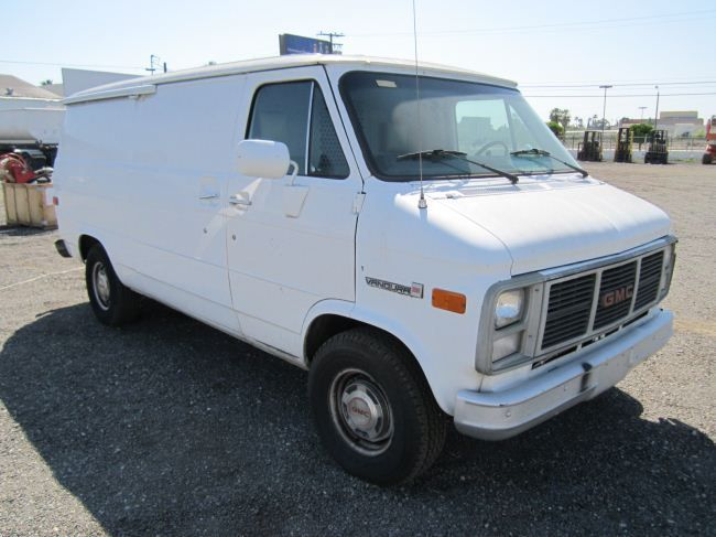 1987 gmc vandura 2500 utility van. Black Bedroom Furniture Sets. Home Design Ideas