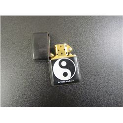 1993 Ying Yang, Genuine Leather Covered Cigarette Lighter