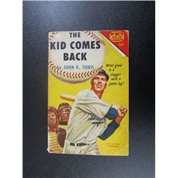 The Kid Comes Back by John R. Tunis, Tab Paperback 2nd Printing 1961