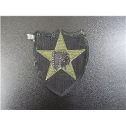 Military Patch, Indian Chief Inside Military Star
