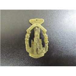Edin Burgh, Scott Memorial Brass Door Knocker