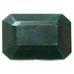 African Emerald Loose Gems 177.37ctw Emerald Cut