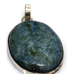 Natural 112.74 ctw Semi Precious .925 Sterling Pendant