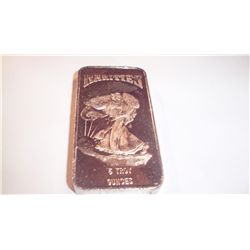 5 Oz .999 PURE SILVER BAR