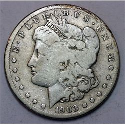 1903-S Morgan Silver Dollar - G