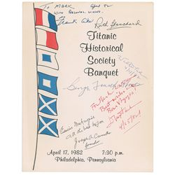 Titanic Historical Society Banquet