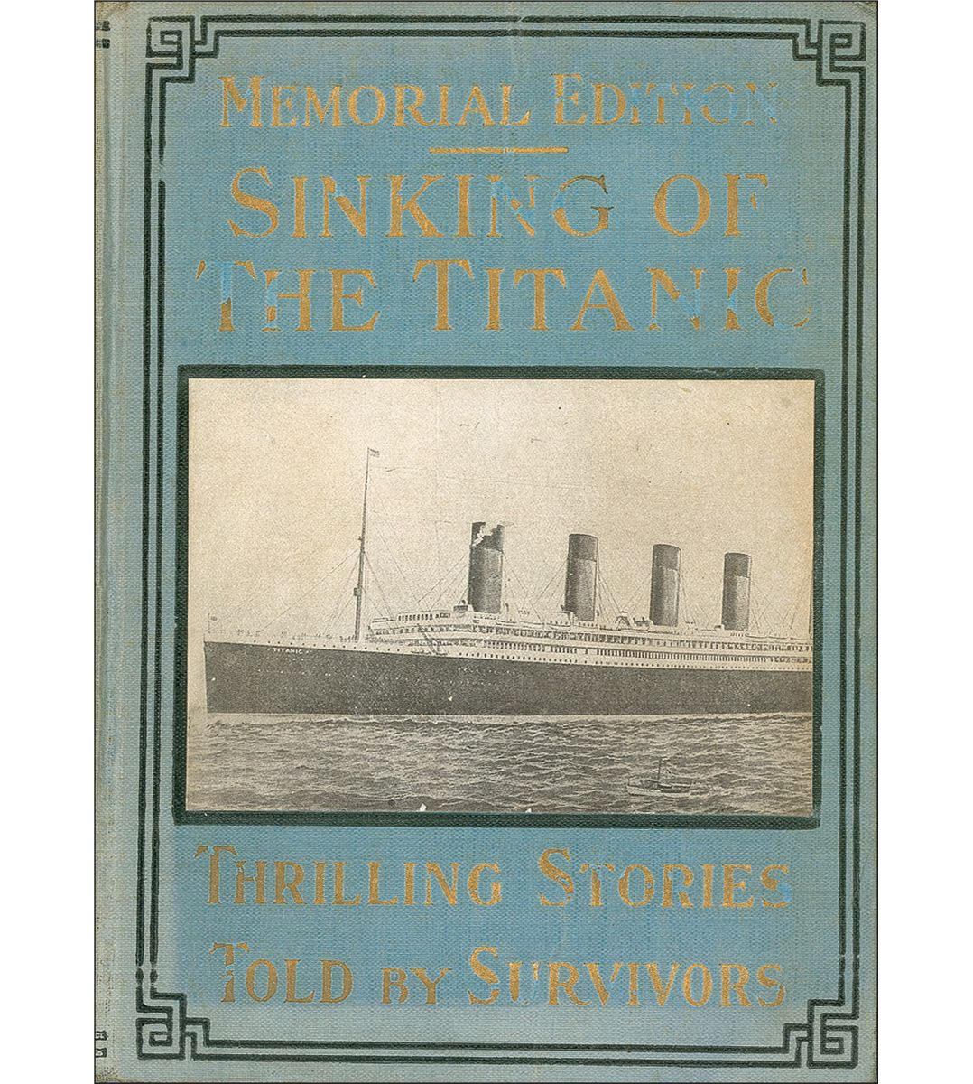 a description of the sinking of the titanic Titanic - the ship magnificent is a comprehensive book about all aspects of the actual ship itselfit does not delve into accounts of her passengers, nor does it detail the ship's sinking.