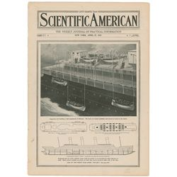 Titanic Scientific American 1912