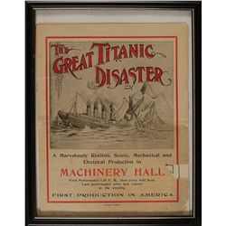 The Great Titanic Disaster