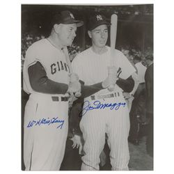 Joe DiMaggio and Bill Terry
