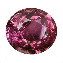 3.60 CT OVAL CUT VIOLET PINK TOURMALINE
