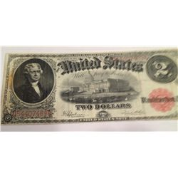 Series of 1917 $2 U.S. Large Note, F