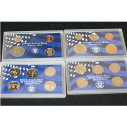 1999-S US Mint Proof Set W/State Quarter Proof Set & 2000-S US Mint Proof Set W/State Quarter Proof