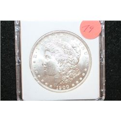 1900 Silver Morgan $1, MCPCG Graded MS63