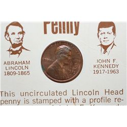 1972-D Lincoln-Kennedy Penny, UNC