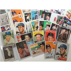 NY Yankee Billy Martin Collection 49 Different Cards