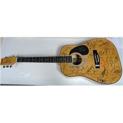 Guitar Signed by Top Country Acts of All Time