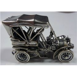 FRANKLIN MINT STERLING SILVER ANTIQUE CAR REPLICA