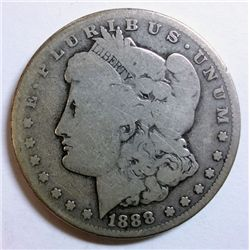 1888-S MORGAN DOLLAR G/VG