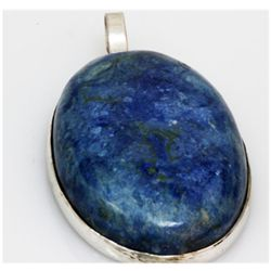 Natural 148.5 ctw Semi Precious .925 Sterling Pendant