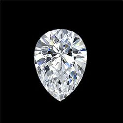 Diamond EGL Cert. ID:3110084522 Pear 0.73 ctw D, Si1