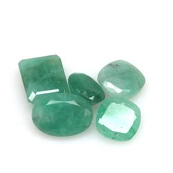 Natural 24.81ctw Emerald Mix (5) Stone