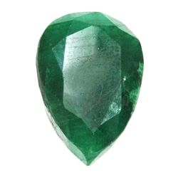 African Emerald Loose Gems 140.81ctw Pear Cut