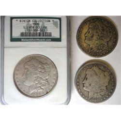 1900 Morgan $ BINION COLLECTION  AU