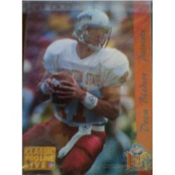 CLASSIC PROLINE LIVE NFL COLLECTION 93 LTD ED  9300 SEALED PACK DREW BLEDSOE TOP