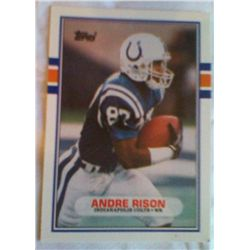 TOPPS ANDRE RISON CARD 102T