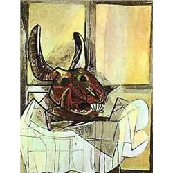"Picasso ""Animal Head Before A Window"""