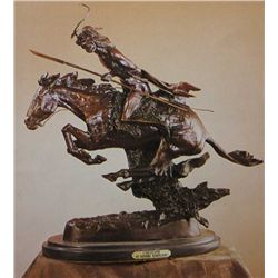 """Cheyenne"" Bronze Sculpture - Remington"