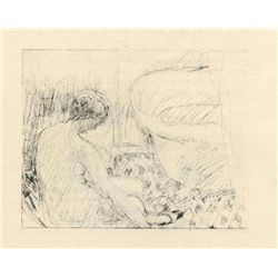 "Bonnard ""Nu Assis"" Original Lithograph"