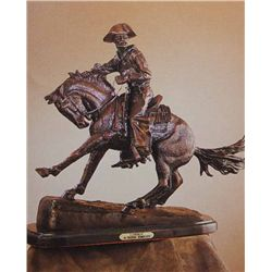 """Cowboy"" Bronze Sculpture - Remington"