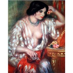 "Renoir ""Gabrielle And The Jewels"" Ltd. Giclee'"