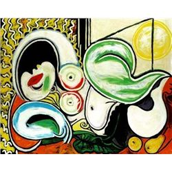 """Picasso """"Reclining Nude With Sun"""""""