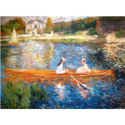 "Renoir ""The Skiff"" Ltd. Giclee'"