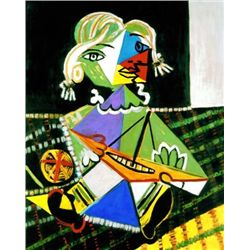 "Picasso ""Maya With Boat"""