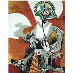 "Picasso ""Buckled Shoed Man"""