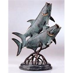 Tarpon Bronze Sculpture