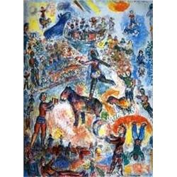 "Marc Chagall ""Circus Grand"""