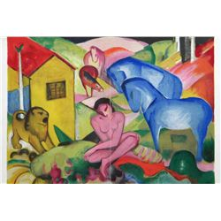 "Franz Marc ""Le Reve"" (The Dream) Lithograph"