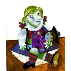 "Picasso ""Portrait Of Maya With Doll"""