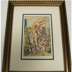 Antique Salvador Dali  1947 Lithograph