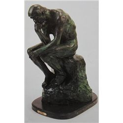 """Thinker"" Bronze Sculpture - Rodin"